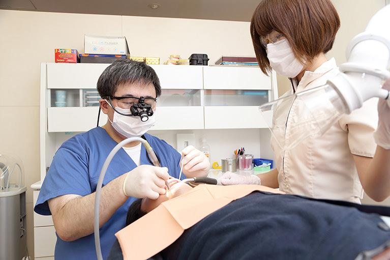 歯内治療(根管治療)
